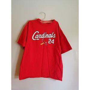 ⚾️Mens St.Louis MLB Cardinal Shirt